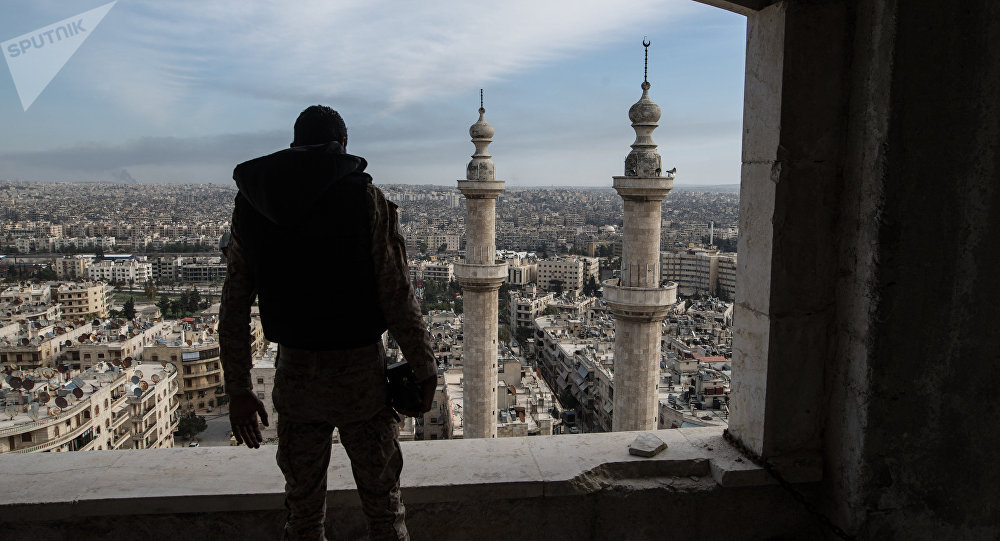 Soldado em Aleppo