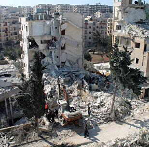 Cidade síria do noroeste de Idlib.