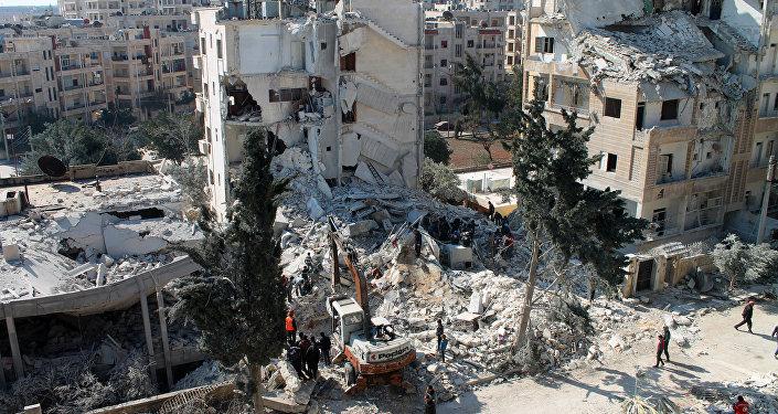 Província de Idlib, no noroeste da Síria