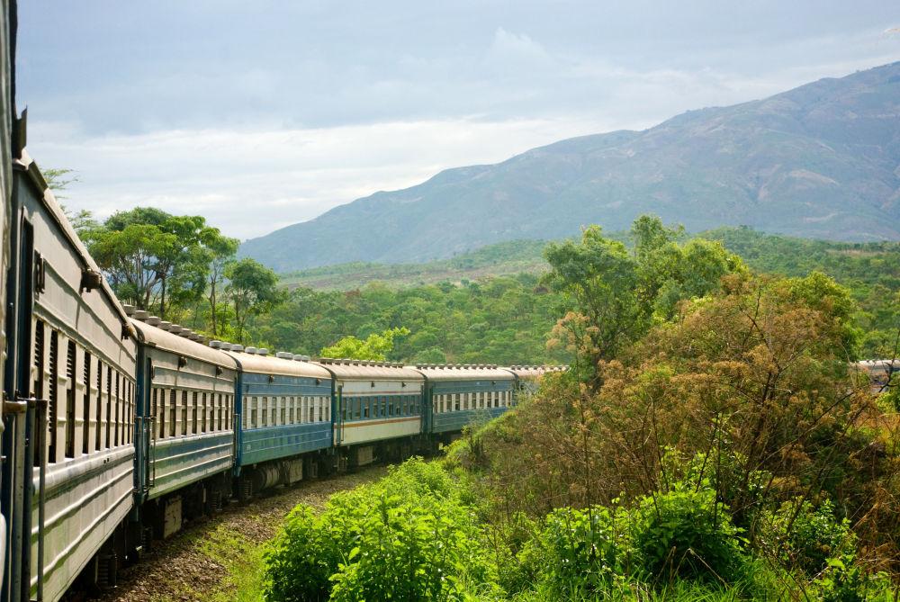 Rota ferroviária operada pela empresa Tazara Rail, que liga a Tanzânia e a Zâmbia ao continente africano
