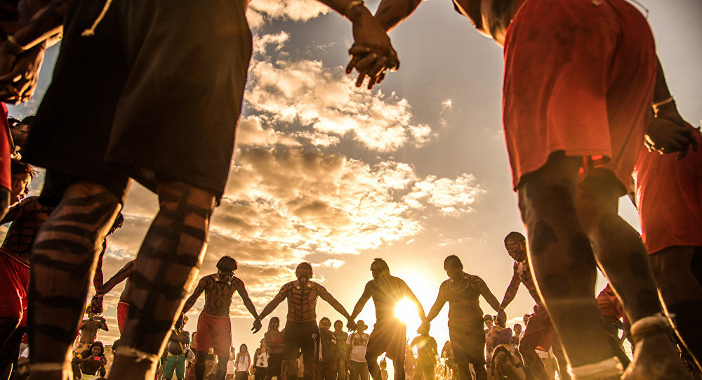 A Aldeia Multiétnica é um espaço de valorização dos povos indígenas que proporciona a união de diversas etnias para a defesa de suas culturas, tradições individuais e lutas em comum