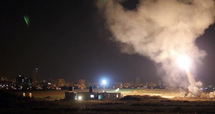 Iron Dome system intercepts Gaza rockets aimed at central Israel