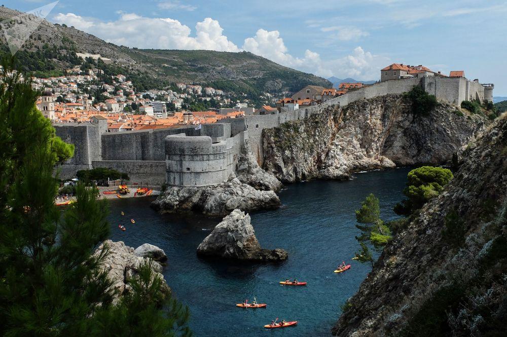 Fortaleza de João Batista na cidade croata de Dubrovnik