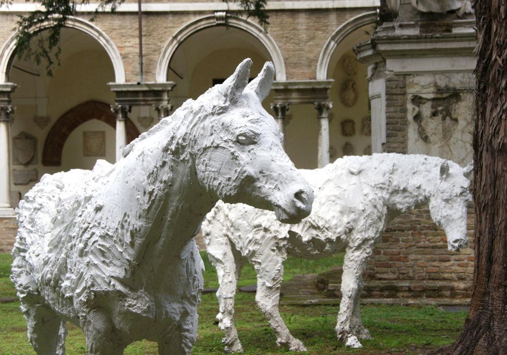 Esculturas em Ravena, cidade italiana