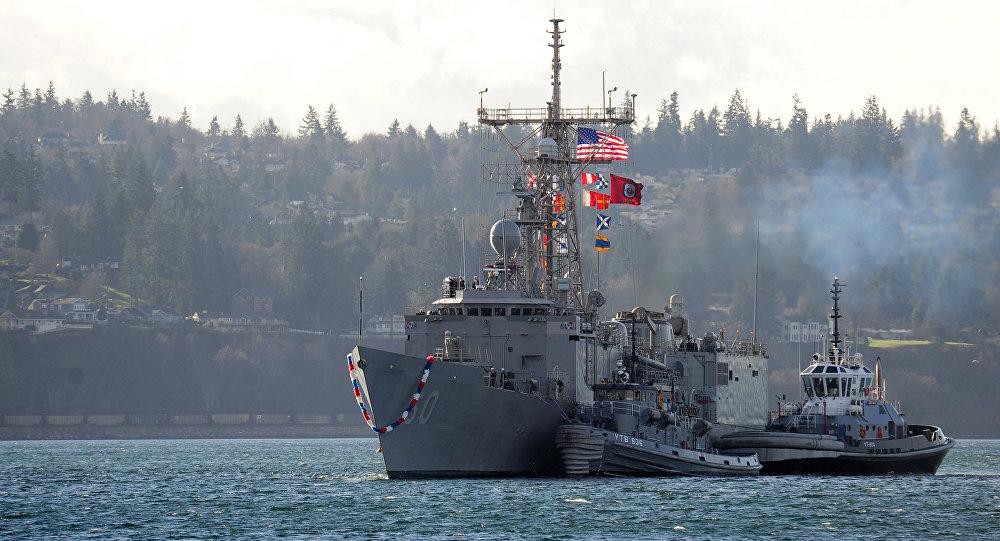 Fragata USS Rodney M. Davis da classe Oliver Hazard Perry