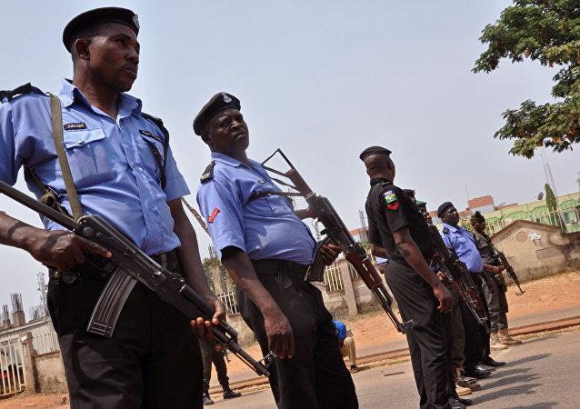Polícia nigeriana (arquivo)