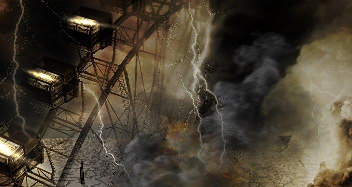 Cenário apocalíptico (apresentação artística)