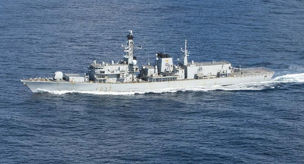 Fragata britânica HMS Westminster