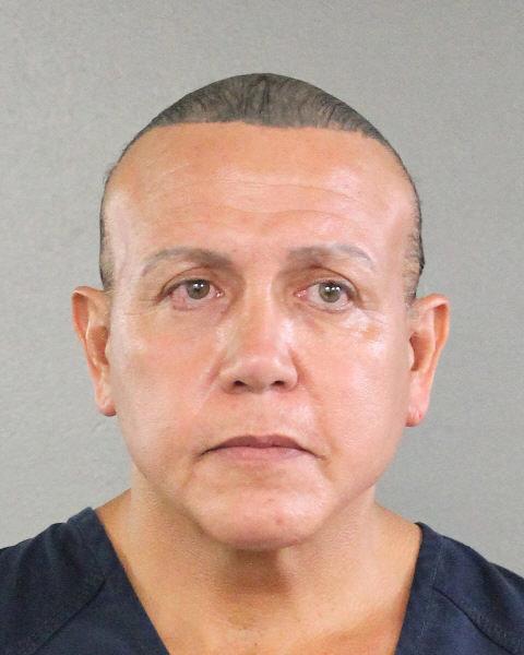 Retrato Cesar Altieri Sayoc na Flórida, EUA