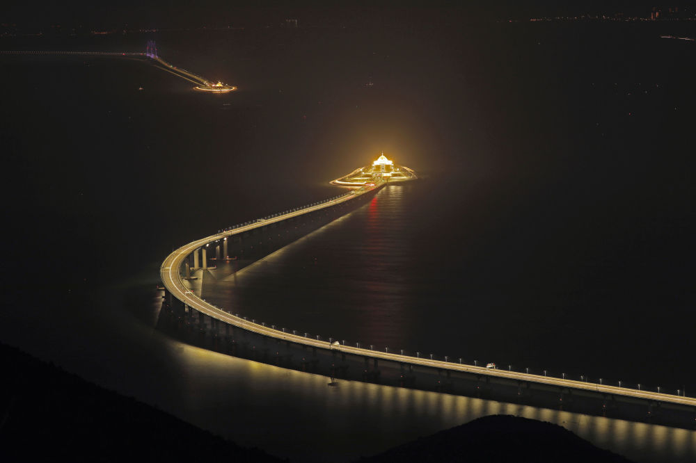 Ponte entre Hong Kong, Zhuhai e Macau