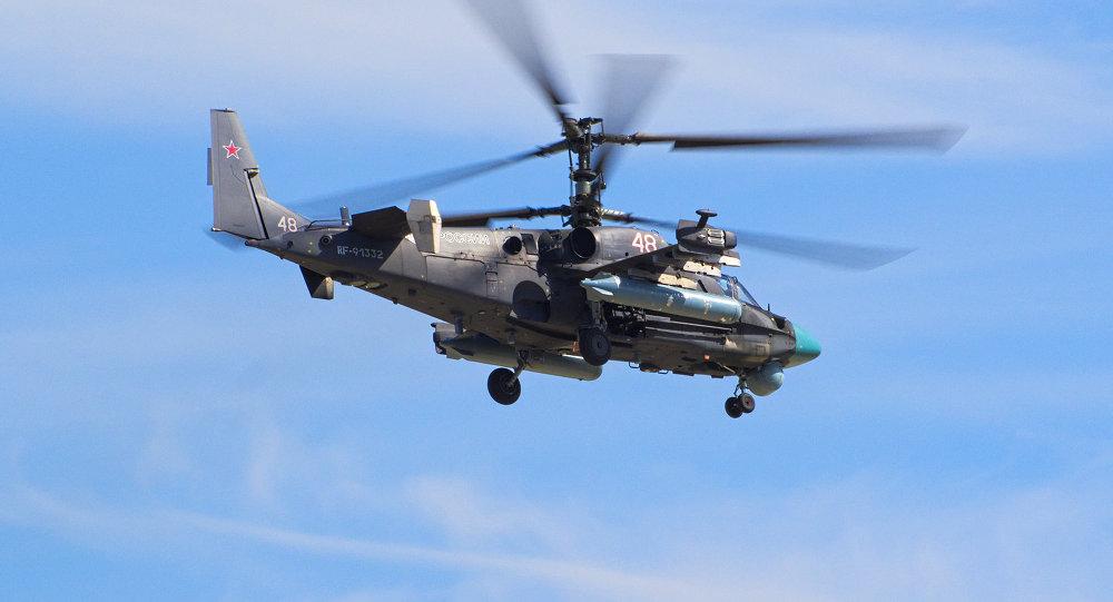Kamov Ka-52 (imagem referencial)