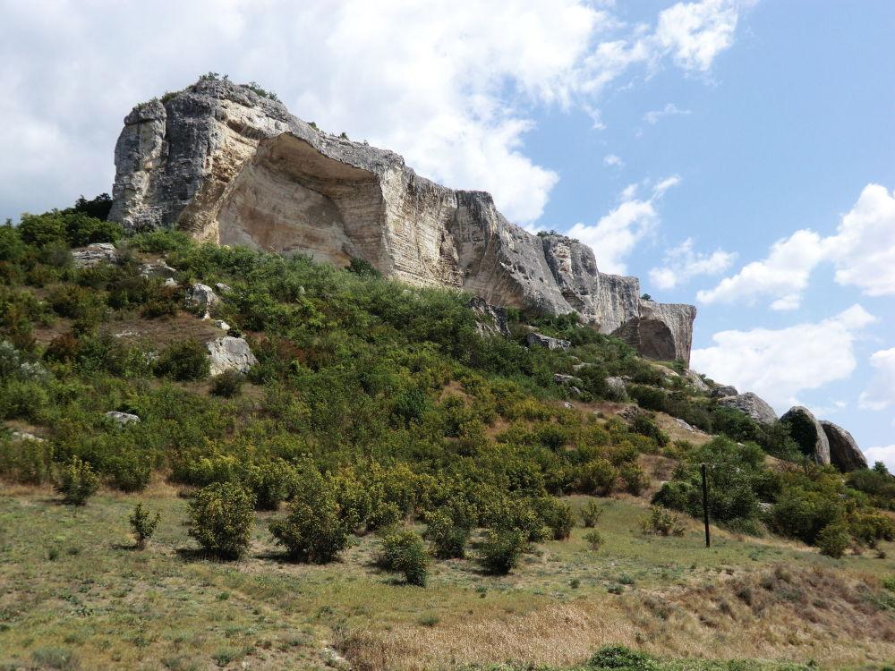 Monastério da Caverna de Kachi Kalion da Crimeia do século VIII