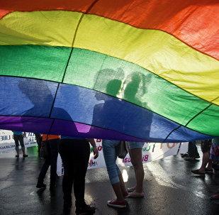 Bandeira LGBT