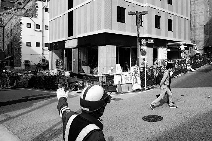 Construção de novo hotel no local onde antes se situava a Akasaka Weekly Mansion