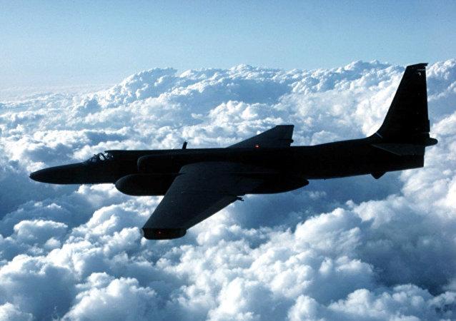 Esta foto sem data da Força Aérea dos EUA mostra um avião espião U-2 (arquivo)