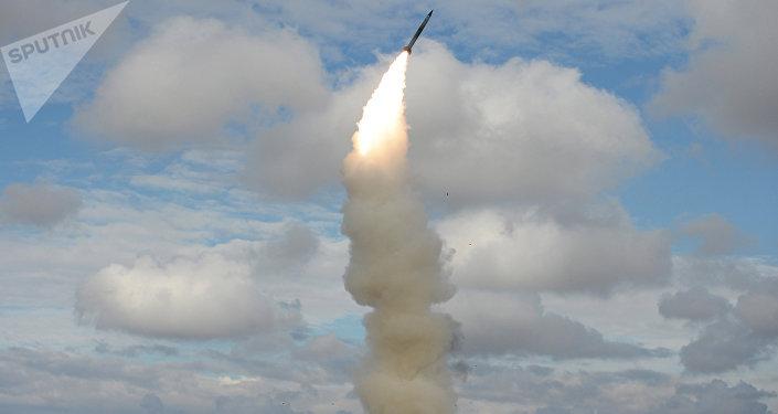 Lançamento de míssil S-300 (foto de arquivo)