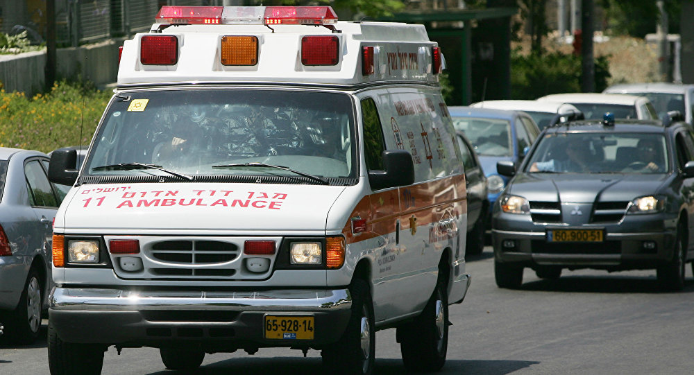 Ambulância israelense