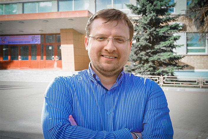 Piotr Borisiuk, cientista da Universidade russa de Investigação Nuclear adstrita ao Instituto MIFI
