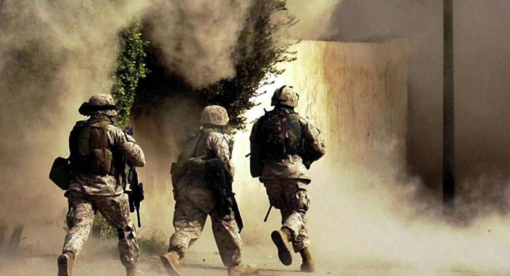 Militares americanos no Iraque, foto de arquivo