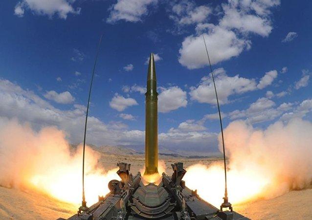 Teste de míssil chinês