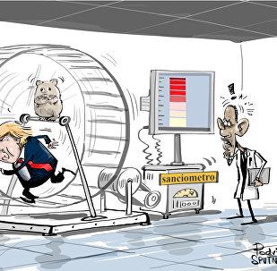 EUA sancionam... e não podem parar