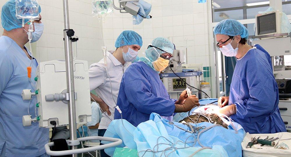 Operação no Centro Ilizarov