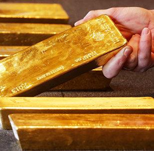 Barras de ouro (imagem de arquivo)