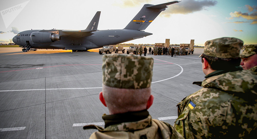 As Forças Armadas da Ucrânia receberam radares norte-americanos de detecção antiartilharia, 14 de novembro de 2015