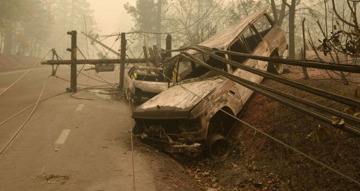 Consequências dos incêndios florestais no estado da Califórnia, nos EUA