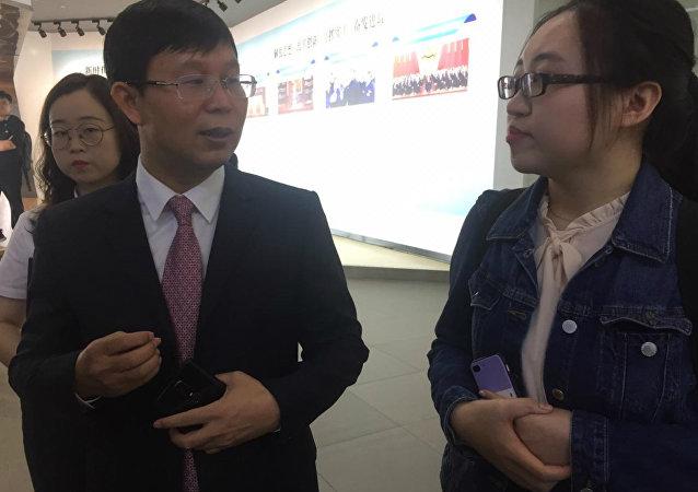 Xie Dong Bo, vice-presidente da GREE