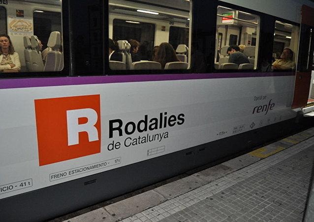 Trem de empresa Rodalies de Catalunya, Espanha