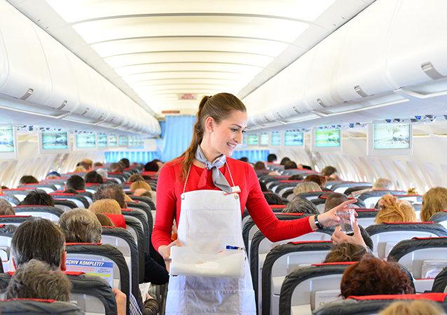 Voo da companhia Austrian Airlines (imagem de arquivo)
