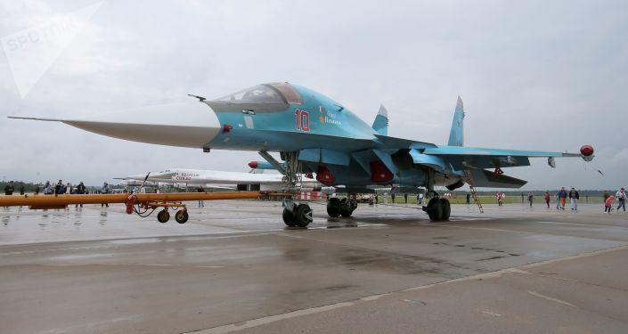 Caça-bombardeiro Su-34