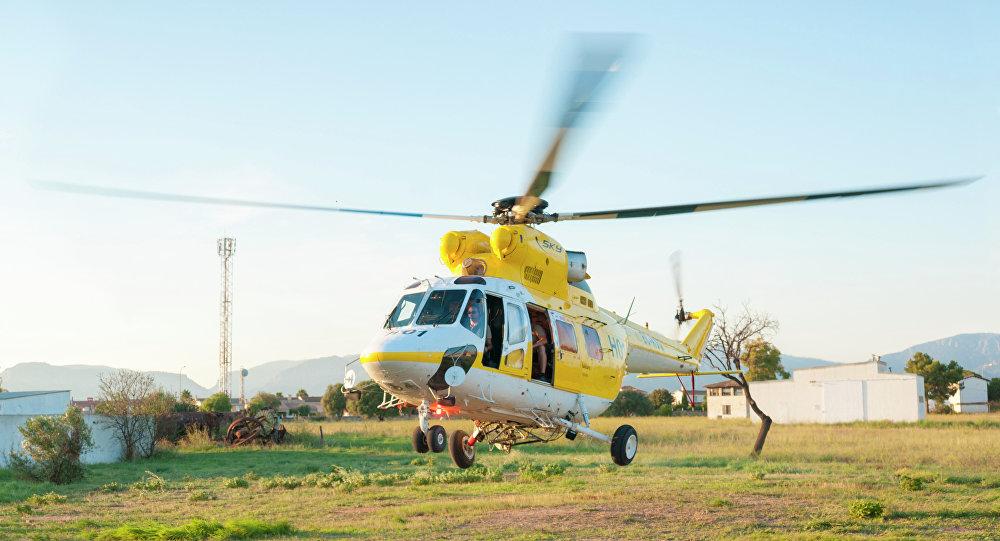 Helicóptero Sokol (Imagem referencial)