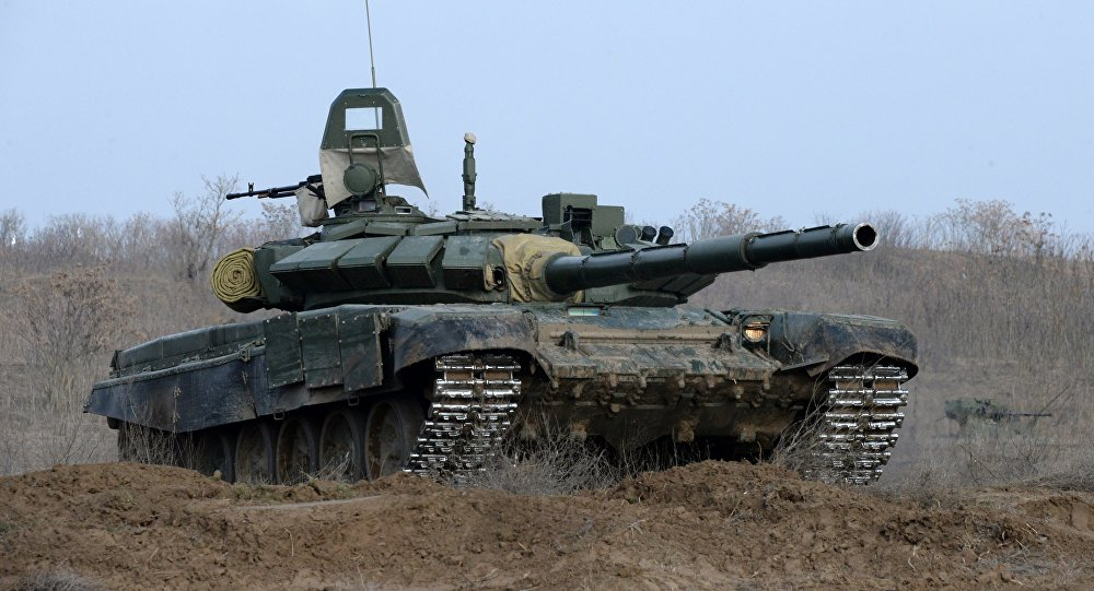 Tanque russoT-72B3