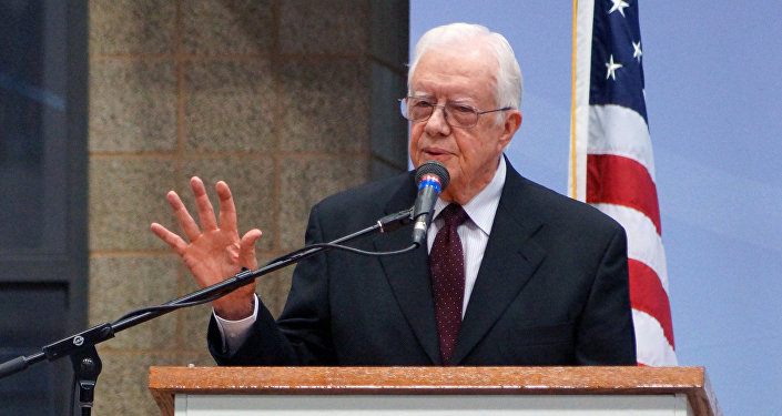 Presidente americano Jimmy Carter
