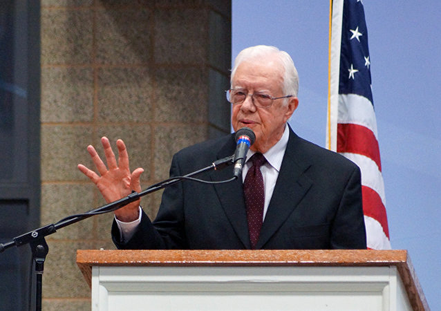 Presidente americano Jimmy Carter