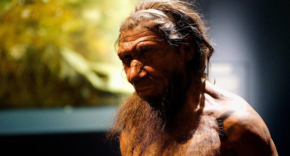 Um neandertal (imagem referencial)