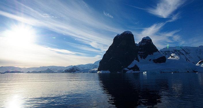 A Antártida, continente mais meridional do planeta