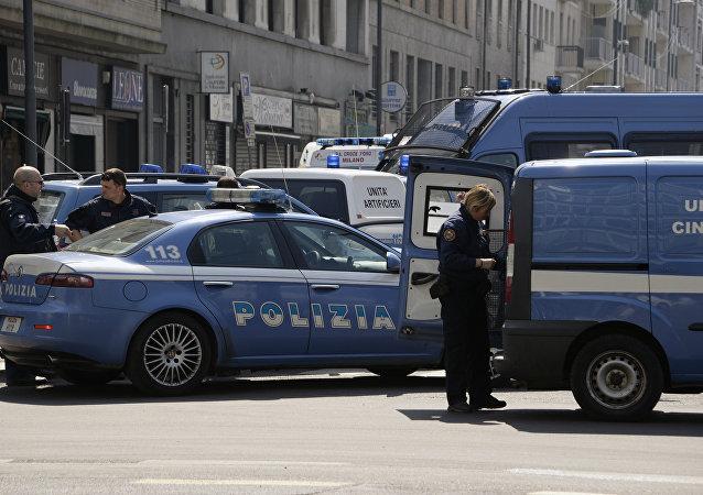 Operação da polícia italiana