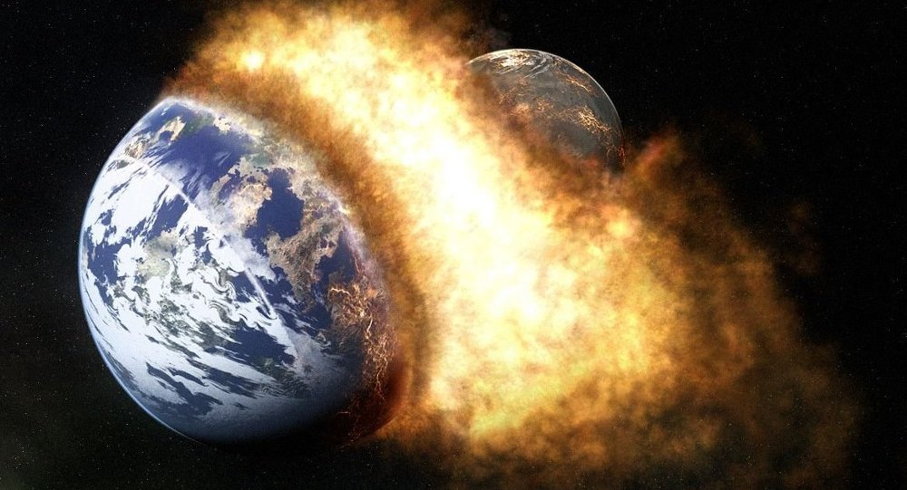 Earth explosion