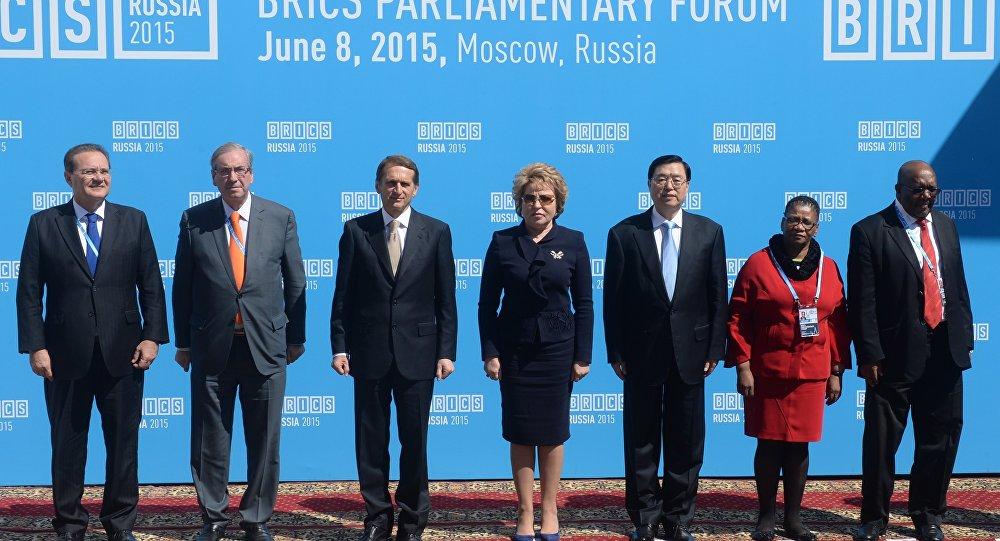 Fórum parlamentar do BRICS em Moscou