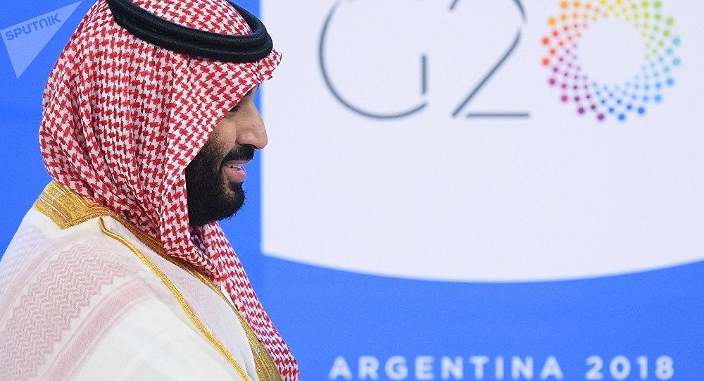 Mohammed bin Salman no G20.