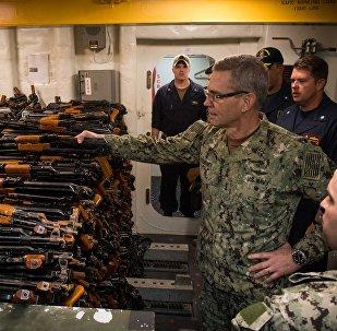 Vice-almirante da quinta Frota da Marinha dos EUA, Scott A. Stearney