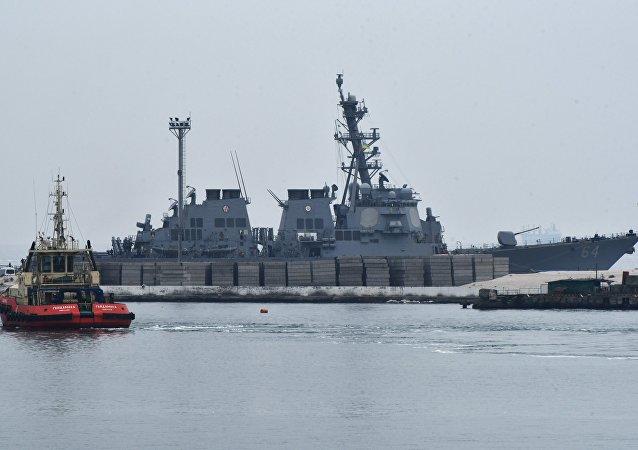 Navios da OTAN chegam para Odessa, Ucrânia