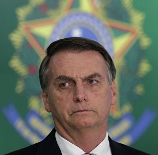Jair Bolsonaro em Brasília.
