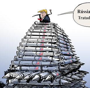 Para sair do INF é só pôr a culpa na Rússia