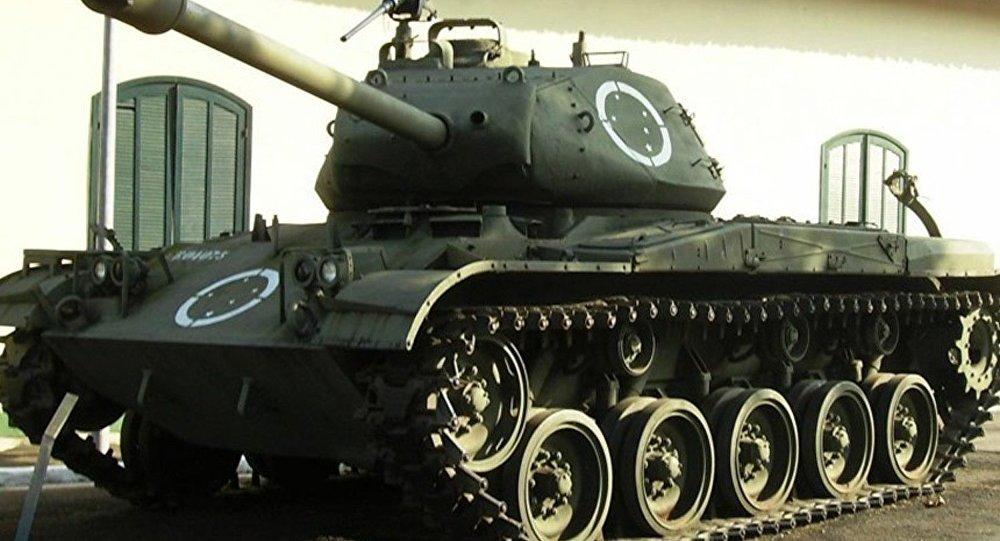 Blindado M41 de fabricação americana