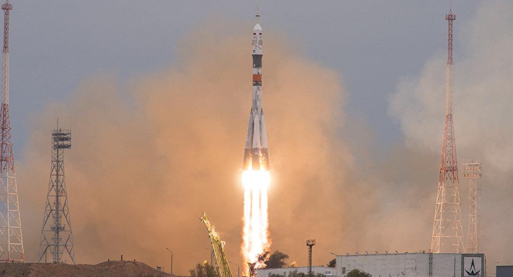 Cosmonautas da Roscosmos e da NASA partem para missão de quatro meses na Estação Espacial Internacional (foto de arquivo)