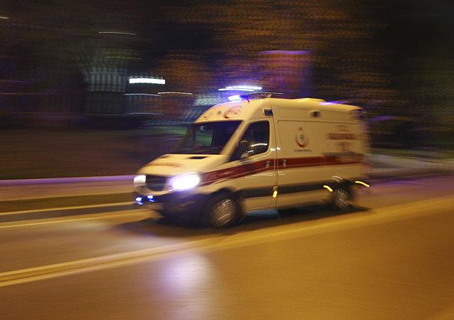 Ambulância turca (imagem de aquivo)